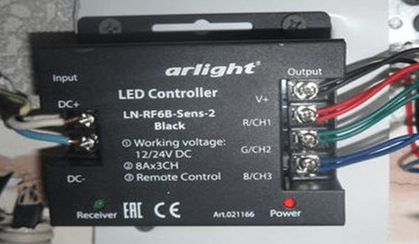 подключение и установка светодиодной ленты RGB