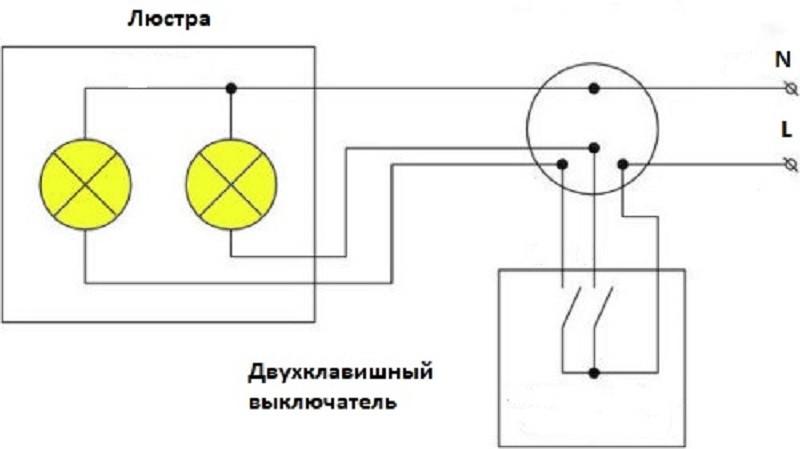 как подключить люстру самостоятельно