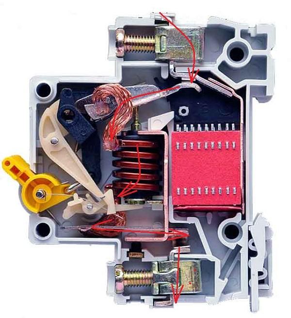 устройство автоматического выключателя 2