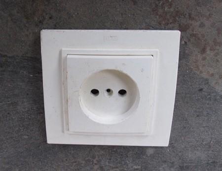 фото электрической розетки