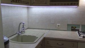 Светодиодная подсветка для кухни Освещаем рабочую зону