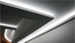 Лайфхак при монтаже светодиодной подсветки потолка
